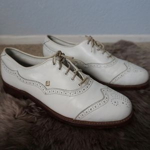 Vintage FootJoy Oxford Golf Shoes Size 9